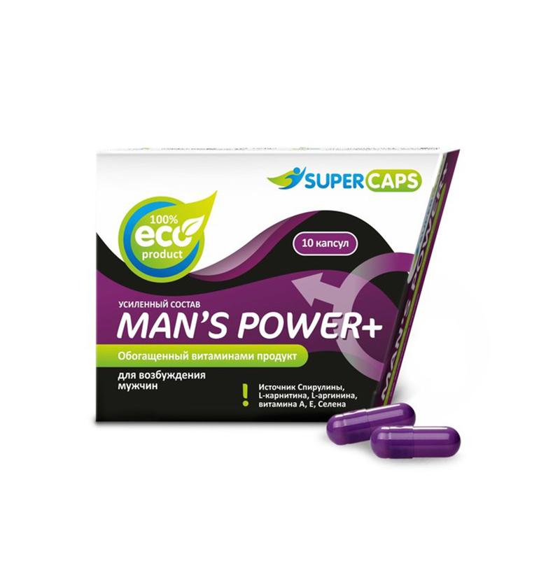 Man's Power plus 10 капсул